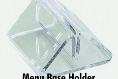Triangle-clear-acrylic-menu-holder-base-bury-graphics