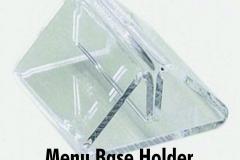 Triangle-clear-acrylic-menu-holder-base-bury-graphics