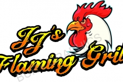 GRILL-CHICKEN-LOGOS-DESIGN-BRANDING-BURY-GRAPHICS