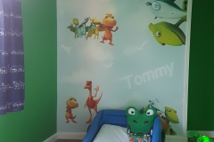 Wall mural-wallpaper-signsinbury-burygraphics
