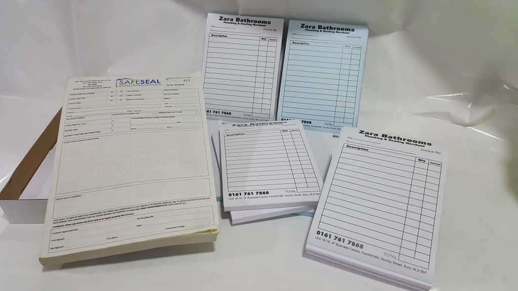 ncr-invoice-pads-books-duplicate-carbon-copies-bury-graphics