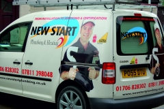 VEHICLE-STICKER-FLEET-VEHICLES - banner-displays-new-business-BURY-GRAPHICS -SIGNS